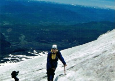 Bild Aufstieg Villarrica